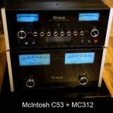 McIntosh C53 + MC312 Ocasión