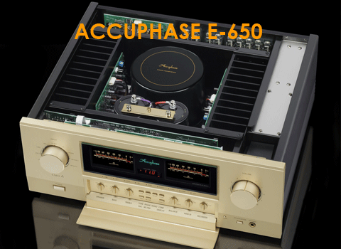 AMPLIFICADOR ACCUPHASE E650
